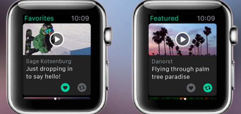 Vine y el futuro del smartwatch
