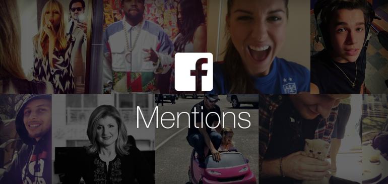 Facebook Mentions ya permite grabar en horizontal