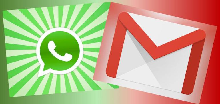 Whatsapp y Gmail pasaron el billón de usuarios