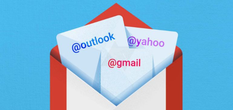 ¿Gmail, Outlook o Yahoo! juntos?