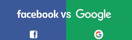 ¿Cuál es la mejor plataforma para colocar publicidad, Facebook o  Google?