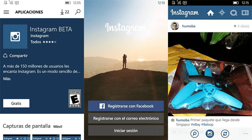 Instagram Windows