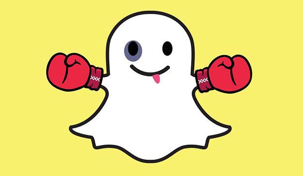 Facebook y Twitter VS Snapchat