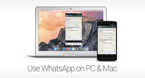 WhatsApp lanzó su app para Mac y Pc