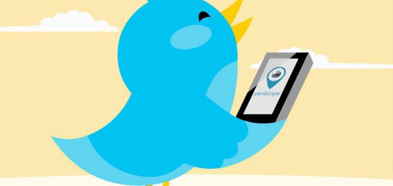 Android ya podrá transmitir en Periscope desde Twitter