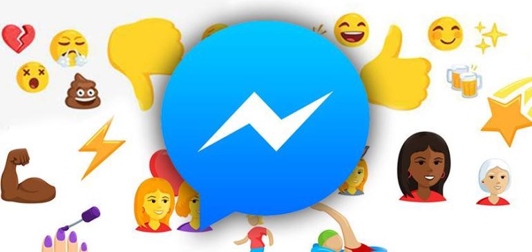 Facebook Messenger agrega nuevos emojis