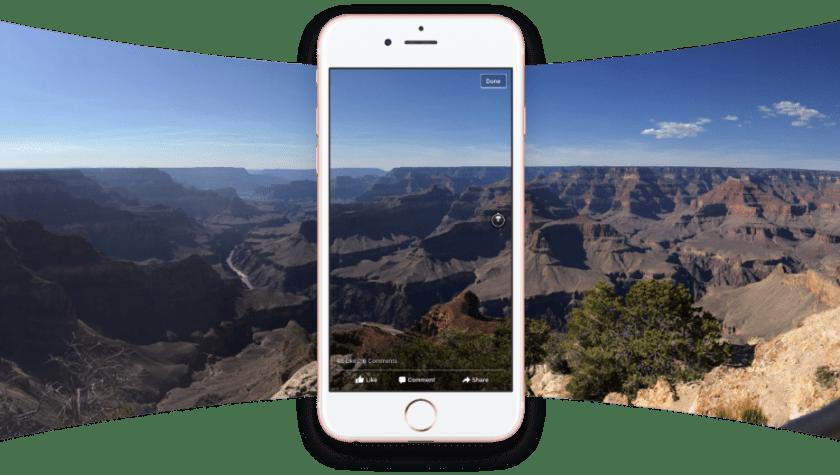 Resultado de imagen para fotos 360 facebook android