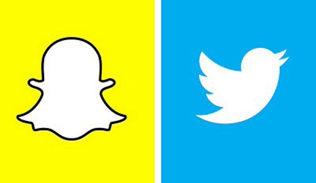 ¿Snapchat o Twitter?