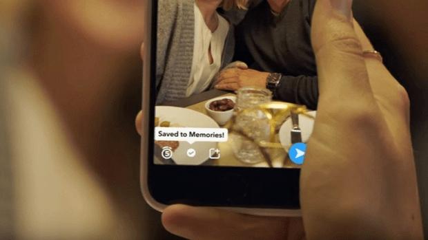 Ahora podrás publicar contenido viejo en Snapchat