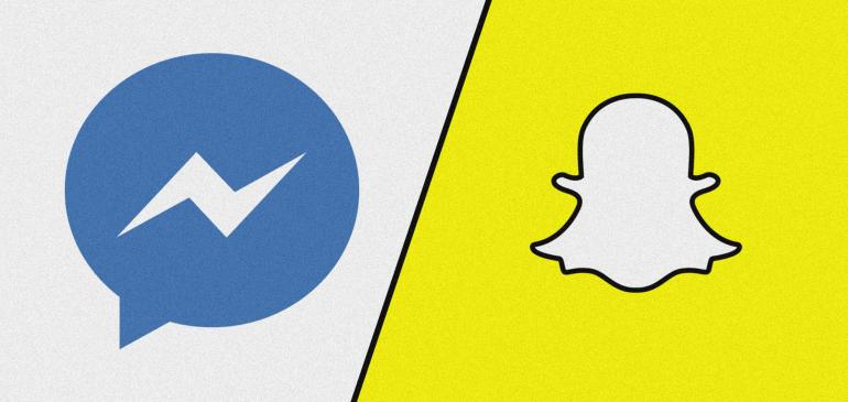 Snapchat y Facebook Messenger la preferida por los consumidores
