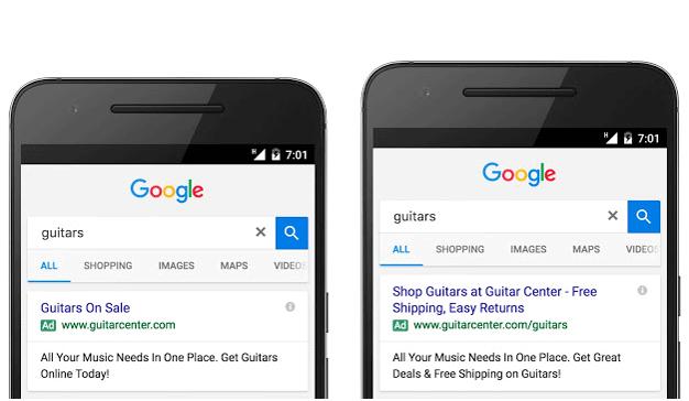 Google ajusta su publicidad para smartphones