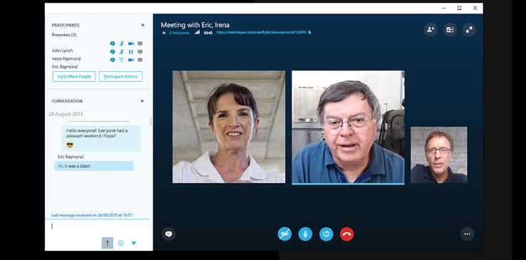 Las Pymes ya pueden reunirse vía Skype
