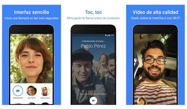 """Google lanza """"Duo"""" para realizar videollamadas"""