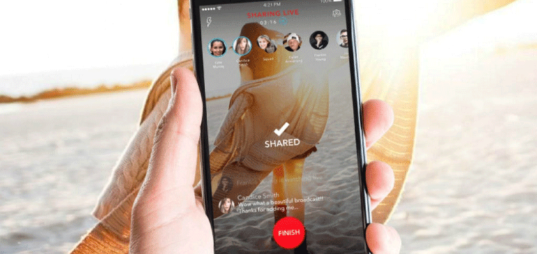 Alively la aplicación para transmitir vídeos