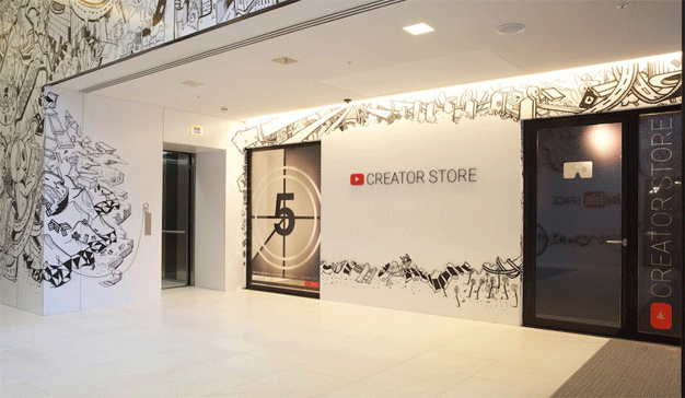 YouTube abrirá su primera tienda física