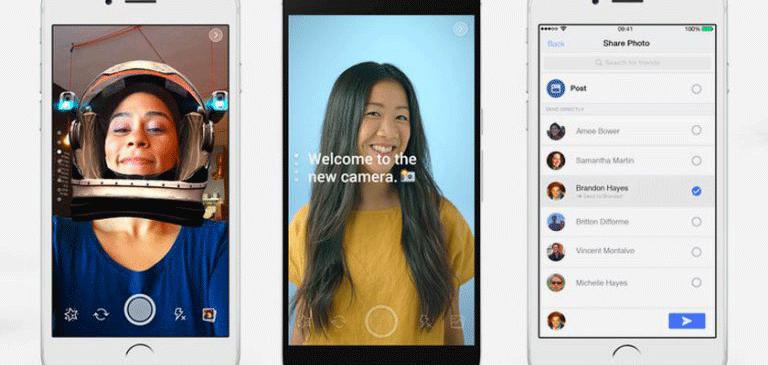Guerra de filtros con Facebook y Snapchat