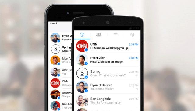 Facebook enviará anuncios por Messenger