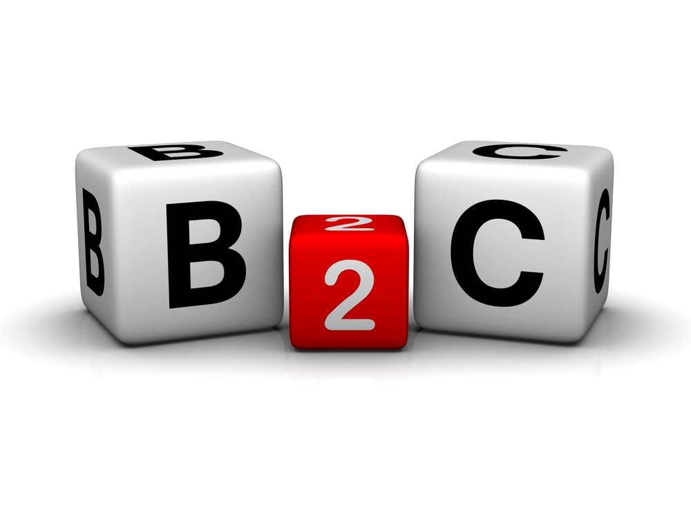 B2C estrategia que desarrollan las empresas para llegar directamente al cliente o consumidor final.